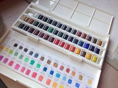 Style Medium: Winsor and Newton Cotman Watercolor - For a more stylized finish and color variety
