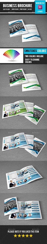 Corporate Bifold Brochure Template #design #printdesign Download: http://graphicriver.net/item/corporate-bifold-brochurev276/12113812?ref=ksioks