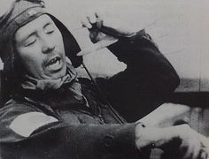 """Sadaaki """"Matsu-chan"""" Akamatsu describing fighter tactics against American planes with the Raiden. Sadaaki Akamatsu (born30 July 1910) was an infamous JNAF ace who fought from 1937 in China till the end of WW2 in 1945. Akamatsu was well known, with a reputation as a trouble-maker and also a  trickster. Many of his air-victories were obtained while drunk and his  supervisors stood behind him, as did his fellow pilots who frequently  defended and covered for him."""