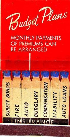 Snyder Insurance, Carlsbad, #feature #matchbook  To design & order your business' own branded #matches GoTo GetMatches.com
