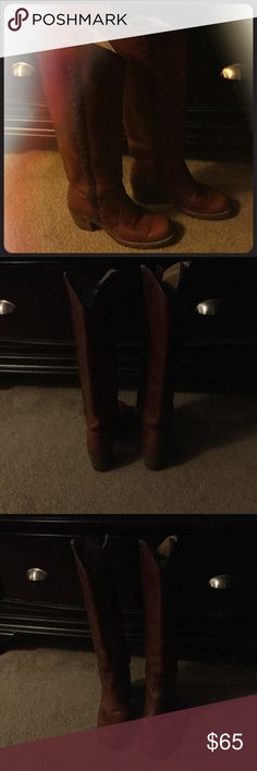 Vintage Frye boots 70's vintage Frye boots in great condition. Frye Shoes Heeled Boots