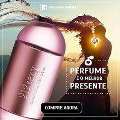 Perfume é o melhor PRESENTE #GiLove 212 sexy 100ml Feminino - Carolina Herrera - Giovanna Imports FRETE GRÁTIS !!!  #diadosnamorados #presentes #beauty #perfumes #importados #alegria #cute #gi