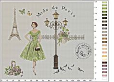 Les idées créatives de Rachel (couleurspassions) -Mode de Paris verte