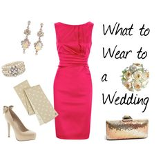 """What to Wear to a Wedding"" by stylebykaren on Polyvore"
