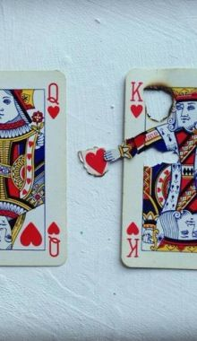 "Elmo Hood Playing Cards' Art. The top one - ""Queen of... (TrueBlueMeAndYou: DIYs…"