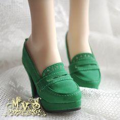♠ MVS ♠ 1 / 3BJD SD16 female high-heeled shoes retro music Fu SH-HLF- Taobao