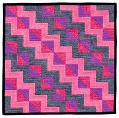 Fun-Size Quilts Blog Hop - Fat Quarter Shop's Jolly Jabber