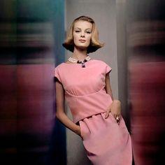 Nena von Schlebrügge; photo by John Rawlings, 1961.
