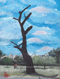 Acrylic Landscape Painting  Made2Order