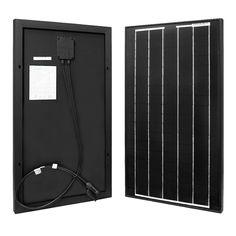 renogy 30 watts 12 volts monocrystalline pv solar panel