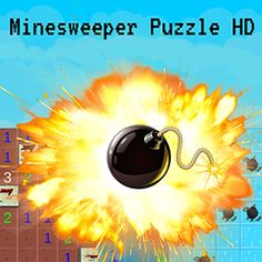 Your goal is to open up all fields that don't contain mines without exploding by clicking on a field with a mine underneath it. Test your logical thinking skills and don't blow up in this puzzle game! New Puzzle Games, Puzzles For Kids, Thinking Skills, Videogames, Fields, Goal, Casual, Brain Teasers For Kids, Kids Puzzles