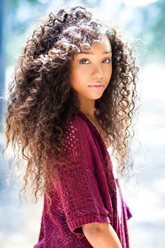 Natural Curly Hair #LongHair #Hairstyles                                                                                                                                                      More