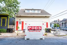 Here's how renting from PODS works, what it costs, what to expect, and how to pick from different sizes. We also look at PODS alternatives and competitors! Moving Containers, Storage Containers, Pods Moving And Storage, Amber Alert, Container Size, Jonesboro Arkansas, New Homes, Renting, Storage Bins