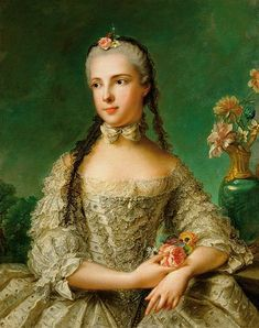 Portrait of Isabella of Parma (1741-1763), first wife of Holy Roman Emperor Joseph II of Austria.