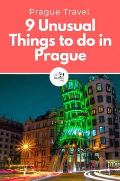 Planning to travel to Prague and don't want to see all the usual tourist stuff? Tap this pin to discover 9 unusual things to do in Prague that you won't find in the travel guides! Backpacking Europe, Europe Travel Guide, Europe Destinations, Travel Guides, Prague Travel Guide, European Vacation, European Travel, Cool Places To Visit, Places To Travel