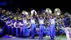 Hampton University marching band 2014