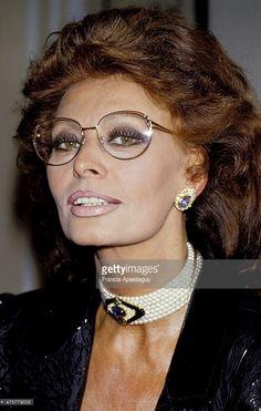 Paris, France -- 29 September 1987, Sophia Loren.,