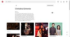 Pinterest • The world's catalog of ideas Christina Grimmie, Make You Believe, Catalog, Make It Yourself, Movie Posters, Beautiful, Ideas, Film Poster, Brochures