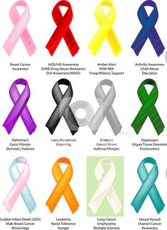 How To Make Support Ribbons For Widely Recognized Causes Each Of The Twelve