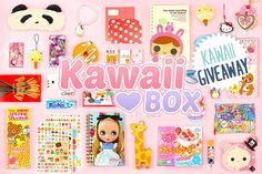 ❤ WIN NEXT MONTH'S KAWAII BOX ❤   Enter this giveaway we have organized with Kawaii Gazette and you might be the lucky one to win the next month's Kawaii Box!  ✩ Click Here To Enter ✩ http://www.kawaiigazette.com/en/giveaway-win-a-kawaii-box-full-of-kawaii-items/