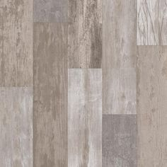 Petrified Oak Plank Stone 13.2 ft. Wide x Your Choice Length Residential Vinyl Sheet Flooring, Multi-Colored Weathered Wood Finish