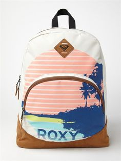 Fairness 6 Backpack from Roxy. Shop more products from Roxy on Wanelo. Pretty Backpacks, Roxy Backpacks, School Backpacks, Leather Backpacks, Leather Bags, Backpack Travel Bag, Backpack For Teens, Fashion Backpack, Travel Bags
