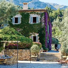 images architectural digest interiors | ... Smith Renovates an Estate in Majorca, Spain : Architectural Digest