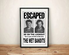 Home Alone The Wet Bandits Harry and Marv Wanted #HomeAlone #giftideas