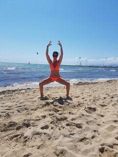 BARREWORKOUT ON THE BEACH ❤ ➖➖➖➖➖➖➖➖➖➖➖➖➖➖ #pilateszeit #cindyrella #pilates #düsseldorf #pilatesstudiodüsseldorf #barrestudio #barreworkout #dancefitness #ballett #balletworkout #fitmum #beachbody #summerbody #summer #mallorca #motivation #inspiration #fullplie #bikini