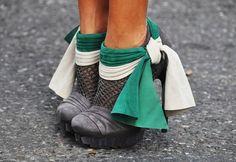 Social Wardrobe: Fashion Bloggers Trends: EMERALD JEWEL TONES