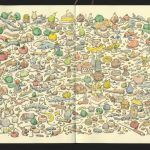Mattias Adolfsson's Wildly Intricate Sketchbook and Doodle Artworks
