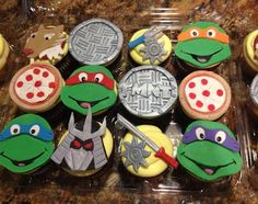 Looking for cake decorating project inspiration? Check out Ninja Turtle Cupcakes by member bikemom3.