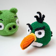 Ravelry: Angry Birds Boomerang Bird (Toucan) pattern by Karla Fitch