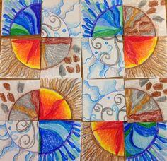 Kandinsky Inspired: 4th Grade