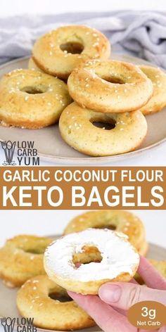 Low Carb Bagels, Keto Bagels, Low Carb Keto, Keto Bread, Low Carb Diet Menu, Keto Pancakes, Low Carb Bread, Ketogenic Recipes, Low Carb Recipes