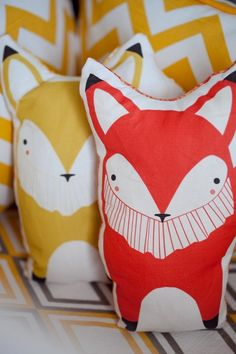 foxes might be my new owls...