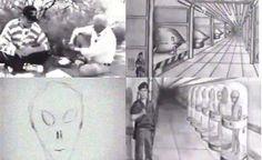 Seres Humanos Trabalhando com ALIENS na Área 51 (VÍDEOS)