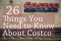 26 Life-Changing Things You Need To Know About Costco--You can use the pharmacy/optical without a membership! Ways To Save Money, Money Tips, Money Saving Tips, Costco Shopping, Shopping Hacks, Costco Store, Costco Deals, Making Life Easier, Budgeting Finances