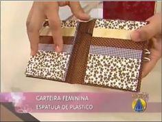 Heloisa Gimenes - Carteira Feminina em Cartonagem - A Original - SemIgual.com - Sabor de Vida - YouTube