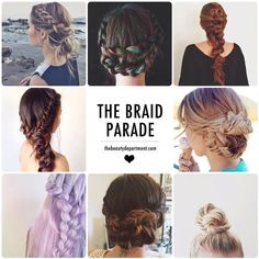MAKE WAY, friends! The Braid Parade is coming through! :)