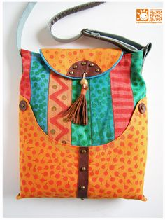 schitterende tas / orange crafts