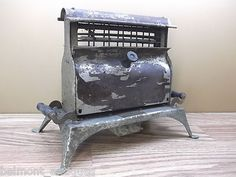 Antique Victorian Pittsburgh Electric Specialties Co Helion Luminous Toaster | eBay