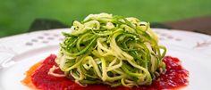 Um milhão de dicas: espaguete de abobrinha