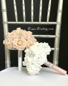 WHITE COMMUNION Bouquet With Glamorous Rhinestone CROSS. Holy COMMUNION Bouquet. White Bouquet. White Communion Bouquet. Pick Rose Flower Ball Centerpiece, Crown Centerpiece, Red Centerpieces, Mickey Centerpiece, Hot Pink Weddings, Aqua Wedding, Bridesmaid Bouquet, Bridesmaids, Blush Bridal Showers