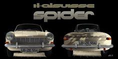Opel Kadett A Spider by Pietro Frua