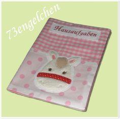 ~ ♥~ Hausaufgabenheft ~ ♥~  U-Heft Hülle Umschlag
