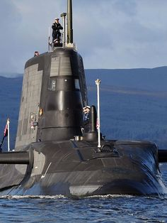 Astute Class Royal Navy nuclear submarine HMS Ambush.