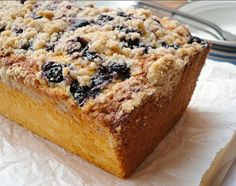 Baking Recipes, Snack Recipes, Snacks, Deli Food, Eat Dessert First, Sweet Bread, Cakes And More, Banana Bread, Blueberry