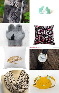 Cats - treasury list by margheritka on Etsy--Pinned with TreasuryPin.com