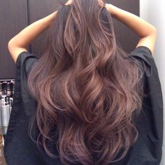 rose brown balayage - Google Search
